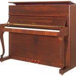 پیانو پتروف مدل p118 d1 MHP Petrof upright piano طرح demichippendale
