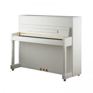 پیانو پتروف مدل p122 n2 Petrof upright piano طرح سفید