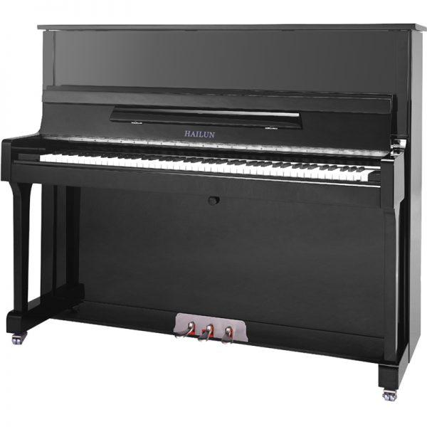 پیانو آکوستیک هایلون مدل HL 121 Hailun upright Piano مشکی | کیمیای هنر