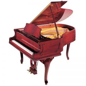 بررسی پیانو پتروف مدل Grand P173 Breeze طراحی ماهاگونی | کیمیای هنر
